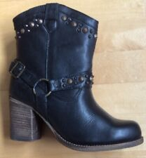 Coolway Ladies Leather Chelsea Boot Black New Size 5 Uk