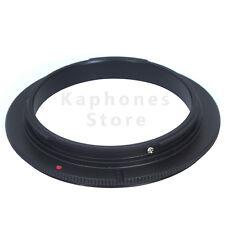 62mm Macro Reverse Mount Ring Adapter For Canon Rebel XSi XT 60D 5D Mark II