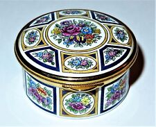STAFFORDSHIRE ENAMELS FLORAL BOX - ASSORTED MULTI-COLORED FLOWER PANELS