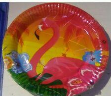 Hawaiian Party Paper Plates