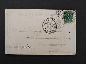 Alaska: Cleary 1907 View Postcard, Doane Cancel