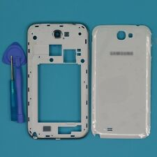 For Samsung Galaxy Note 2 N7105 I317 White Housing Middle Frame Battery Cover