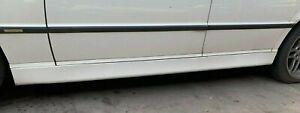 1998 1999 2000 2001  BMW E38 740i LEFT DRIVER SIDE SKIRT ROCKER PANEL WHITE
