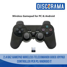 CONTROLLER ANDROID PC 2,4 GHz GAMEPAD WIRELESS TELECOMANDO GIOCO JOYPAD JOYSTICK