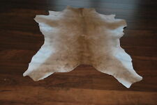 New Brown  Original Calf Hide Rug size approx 3x3ft