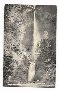1930s Real Photo Postcard RPPC ~ MULTNOMAH FALLS, Columbia River Hwy, Oregon