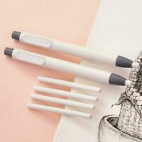Refillable Pen Shape Rubber Press Type Mechanical Eraser 71091 School Stati Y1I1