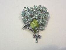 KIRKS FOLLY FORGET ME NOT PIN NWOT (SILVER)