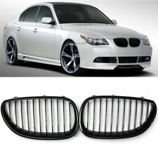 Gloss Black Sport Wide Kidney Grille Grill For BMW E60 E61 5 Series M5 2003-2010