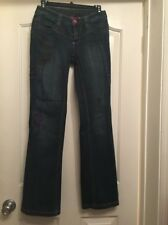 OILILY 310 Dark Blue Boot Cut Jeans Size 34