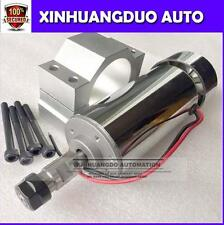 48V CNC DC spindle motor 400w for CNC engraving machine + clamps + ER11A