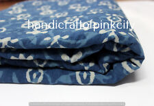 5 Yards Craft Material General Use Indigo Fabric Blue Color Indigo Dye Free Ship