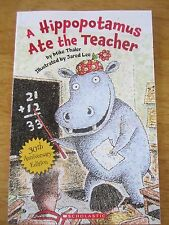 A Hippopotamus Ate the Teacher by Mike Thaler NEW Paperback Ages 5-7