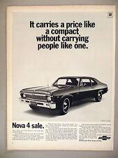 Nova PRINT AD - 1969 ~~ Chevrolet