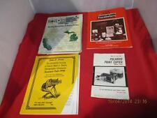 Lot 4 Various Vintage Photography Books & Literature Polaroid Copier Model 2401
