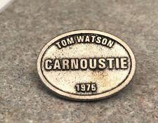 1975 British Open Tom Watson Golf Ball Marker (Carnoustie) Stemmed