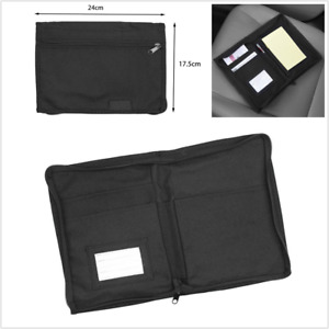 Car Glove Storage Box Multi Pockets Organizer Manuals Documents Storage Holder