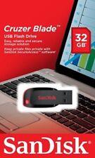 Nuevo SanDisk 32 Gb Cruzer Blade CZ50 USB 2.0 Memoria Flash Pen Drive