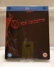V For Vendetta (Blu-ray SteelBook) (Zavvi Exclusive) [UK] - Import audio ITA