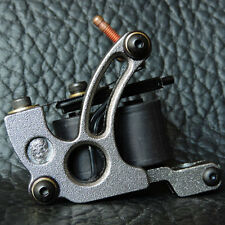 Pro Casting Steel 7000 R/Minute 10 Wrap Coil Liner Tattoo Machine Gun Gray HK