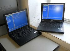 "Lot of 2/ 14"" Dell Latitude 110L PP10S Laptops +Celeron M 1.3Ghz & 512MB Memory"