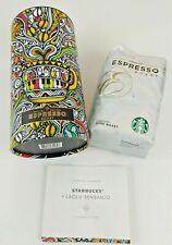 Starbucks Espresso Roast Coffee Beans SENBANJO Canister Collectible Fair Trade