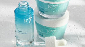 No. 7 HydraLuminous Overnight Recovery Gel Cream and Cream For Drier Skin 50 ml