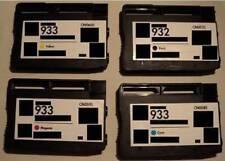 4 Farb-Patronen Set Refill f. HP 932XL HP 933XL Officejet 6100 6600 6700 E-All-I