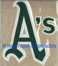 1973 OAKLAND A's / ATHLETICS Cooperstown TEAM PATCH Willabee & Ward ~ PATCH ONLY