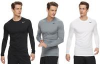 Mens Nike Pro Cool DRI-FIT Base Layer Top Fitted L/S T-Shirt - XXL/XL/L/M - NWT