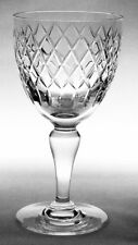 """ROYAL BRIERLEY Cut Crystal Glass COVENTRY Wine Goblet - 5-1/4"""" Tall Discontinued"""