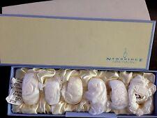 NEWBRIDGE Silverware Napkin Rings Luxury Silver Plated x 6 - New