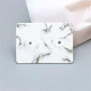 100 x  Cardboard Earring Display Cards - 2.5cm  X 3.5cm