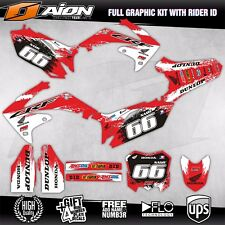 2009 2010 2011 2012 HONDA CRF 450 Decals kit AION MX Graphics kits