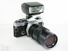 Olympus OM-2N 35mm SLR Film Camera with Zoom Lens, T20 Flash & More