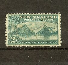 NEW ZEALAND (P0308B) 2/- LAID PAPER  PICTORIAL  SG 269A  VFU