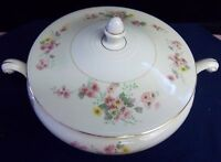 Vintage Homer Laughlin  Eggshell Nautilus Caserole Tureen Dish With Lid