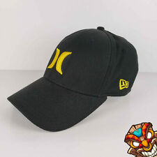 Hurley New Era Yellow Logo on Black Fitted 59FIFTY Medium/Large Hat Cap