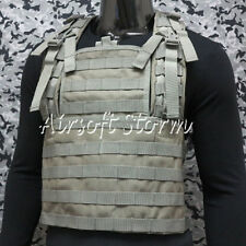 Airsoft SWAT Tactical Gear Molle Combat RRV Platform Vest ACU Foliage Green