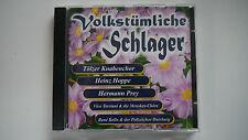 Volkstümliche Schlager - Tölzer Knabenchor / Heinz Hoppe / Hermann Prey - CD