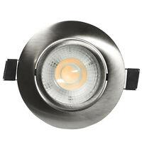 LED Spot Einbaustrahler Set Einbauleuchte Deckenleuchte Strahler 7W Dimmbar