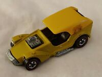 HOT WHEELS 1969 ICE T' RED LINE AZTEC YELLOW GD CONDITION, ROLLS WELL & STRAIGHT