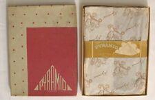 3 Pr 1940s Rare~Pyramid~Full Fashioned Seamed Vintage Nylon Stockings 10/34 Mib