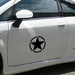 20cm Matte Black USA US Stern Car Jeep Sticker Tattoo Film Car Sticker