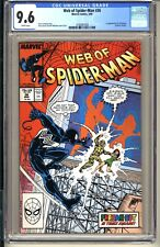 Web of Spider-Man #36  CGC 9.6 WP NM+ Marvel Comics 1988 1st app Tombstone