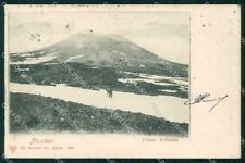 Catania Nicolosi Etna Cratere Trenkler 3981 cartolina RB9371
