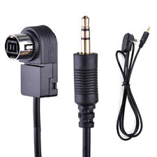 Car 3.5mm Aux-in Cable Player Interface Adapter For Alpine JVC 9887 105 117 9855