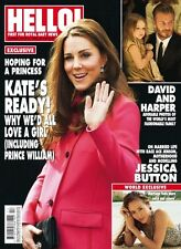 HELLO Magazine 1376 27 April 2015,KATE MIDDLETON,David Beckham,Jessica Button