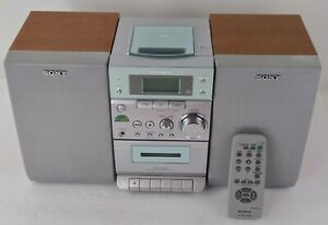 Sony CMT-EP303 Micro HiFi Component System W/ Remote, AM/FM CD Cassette Player
