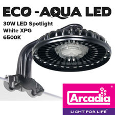 Arcadia Eco Aqua 30W LED 6500K Spotlight White XPG E1AA0144W